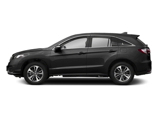 Crystal Black Pearl 2018 Acura RDX Pictures RDX Utility 4D Advance 2WD V6 photos side view