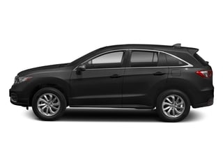 Crystal Black Pearl 2018 Acura RDX Pictures RDX FWD w/AcuraWatch Plus photos side view