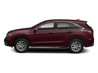 Basque Red Pearl II 2018 Acura RDX Pictures RDX FWD w/AcuraWatch Plus photos side view