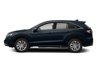 Fathom Blue Pearl 2018 Acura RDX Pictures RDX FWD w/Technology/AcuraWatch Plus Pkg photos side view