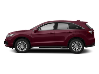 Basque Red Pearl II 2018 Acura RDX Pictures RDX FWD w/Technology/AcuraWatch Plus Pkg photos side view