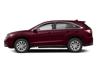 Basque Red Pearl II 2018 Acura RDX Pictures RDX AWD w/Technology/AcuraWatch Plus Pkg photos side view