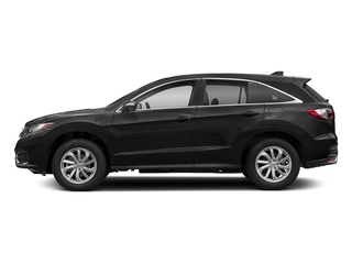 Crystal Black Pearl 2018 Acura RDX Pictures RDX AWD photos side view