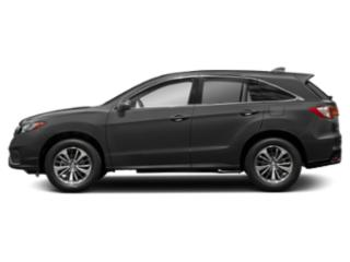 Modern Steel Metallic 2018 Acura RDX Pictures RDX Utility 4D Advance AWD V6 photos side view