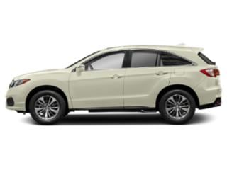 White Diamond Pearl 2018 Acura RDX Pictures RDX Utility 4D Advance AWD V6 photos side view