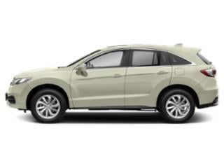 White Diamond Pearl 2018 Acura RDX Pictures RDX Utility 4D Technology AWD V6 photos side view