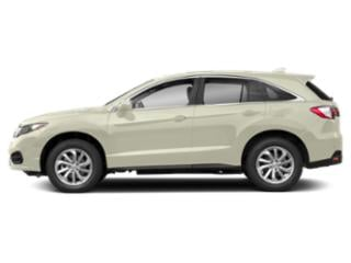 White Diamond Pearl 2018 Acura RDX Pictures RDX AWD w/Technology/AcuraWatch Plus Pkg photos side view