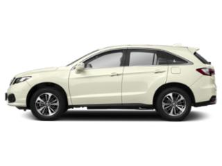 White Diamond Pearl 2018 Acura RDX Pictures RDX Utility 4D Advance 2WD V6 photos side view