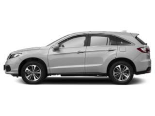 Lunar Silver Metallic 2018 Acura RDX Pictures RDX Utility 4D Advance 2WD V6 photos side view