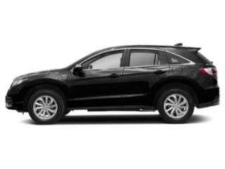 Crystal Black Pearl 2018 Acura RDX Pictures RDX Utility 4D Technology 2WD V6 photos side view
