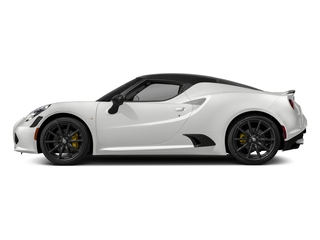 White 2018 Alfa Romeo 4C Coupe Pictures 4C Coupe photos side view
