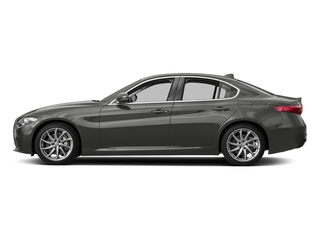 Vesuvio Gray Metallic 2018 Alfa Romeo Giulia Pictures Giulia Ti AWD photos side view