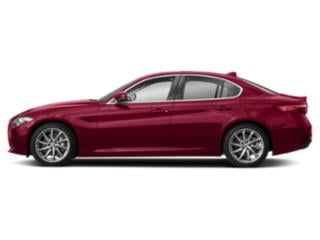 Monza Red Metallic 2018 Alfa Romeo Giulia Pictures Giulia Ti Lusso RWD photos side view