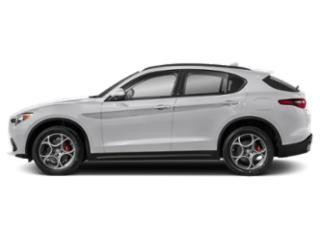 Alfa White 2018 Alfa Romeo Stelvio Pictures Stelvio Ti Sport AWD photos side view