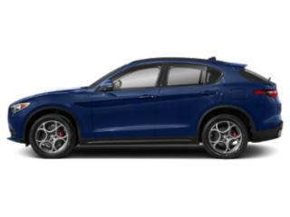 Montecarlo Blue Metallic 2018 Alfa Romeo Stelvio Pictures Stelvio Ti Sport AWD photos side view