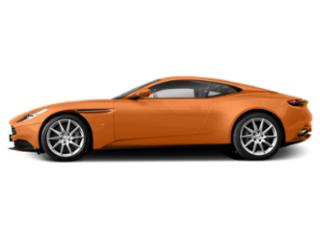 Cinnabar Orange 2018 Aston Martin DB11 Pictures DB11 V12 Coupe photos side view