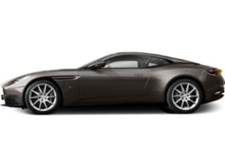 Marron Black 2018 Aston Martin DB11 Pictures DB11 2 Door Coupe V8 photos side view