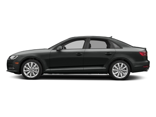 Mythos Black Metallic 2018 Audi A4 Pictures A4 2.0 TFSI Premium Plus Manual quattro AWD photos side view