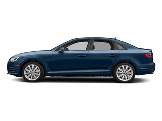Scuba Blue Metallic 2018 Audi A4 Pictures A4 2.0 TFSI ultra Tech Premium Plus S Tronic FWD photos side view