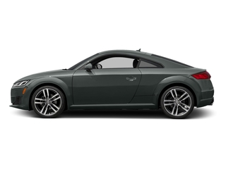 Monsoon Gray Metallic 2018 Audi TT Coupe Pictures TT Coupe 2.0 TFSI photos side view