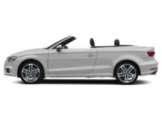 Glacier White Metallic/Black Roof 2018 Audi A3 Cabriolet Pictures A3 Cabriolet 2.0 TFSI Prestige FWD photos side view