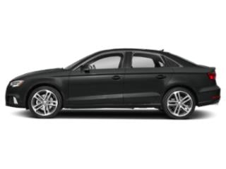 Mythos Black Metallic 2018 Audi A3 Sedan Pictures A3 Sedan 2.0 TFSI Premium Plus FWD photos side view