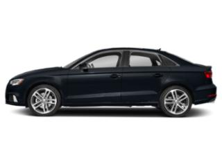 Cosmos Blue Metallic 2018 Audi A3 Sedan Pictures A3 Sedan 2.0 TFSI Premium Plus FWD photos side view