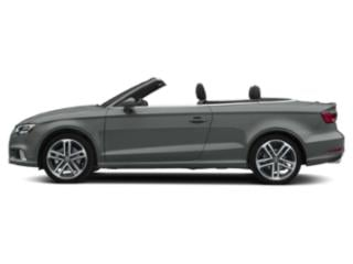 Monsoon Gray Metallic/Black Roof 2018 Audi A3 Cabriolet Pictures A3 Cabriolet 2.0 TFSI Prestige FWD photos side view