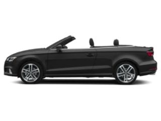 Brilliant Black/Black Roof 2018 Audi A3 Cabriolet Pictures A3 Cabriolet Convertible 2D 2.0T Premium photos side view