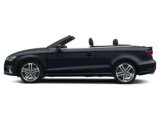 Cosmos Blue Metallic/Black Roof 2018 Audi A3 Cabriolet Pictures A3 Cabriolet Convertible 2D 2.0T Premium photos side view