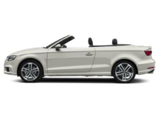 Ibis White/Black Roof 2018 Audi A3 Cabriolet Pictures A3 Cabriolet 2.0 TFSI Prestige quattro AWD photos side view