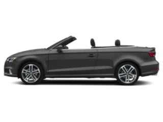 Nano Gray Metallic/Black Roof 2018 Audi A3 Cabriolet Pictures A3 Cabriolet 2.0 TFSI Prestige FWD photos side view