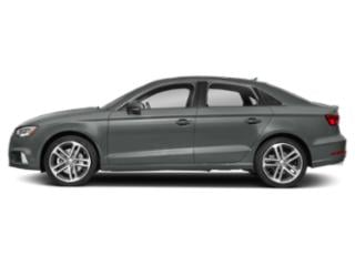 Monsoon Gray Metallic 2018 Audi A3 Sedan Pictures A3 Sedan 2.0 TFSI Premium quattro AWD photos side view