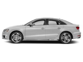 Glacier White Metallic 2018 Audi A3 Sedan Pictures A3 Sedan 2.0 TFSI Premium quattro AWD photos side view