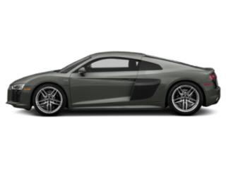 Daytona Gray Pearl Effect 2018 Audi R8 Coupe Pictures R8 Coupe V10 RWD photos side view
