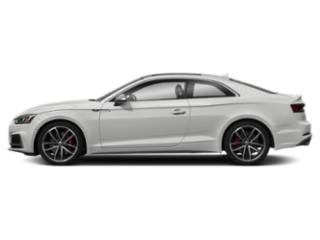 Glacier White Metallic 2018 Audi S5 Coupe Pictures S5 Coupe 3.0 TFSI Prestige photos side view