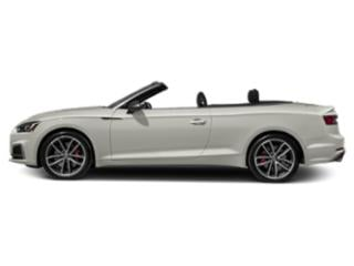 Ibis White/Black Roof 2018 Audi S5 Cabriolet Pictures S5 Cabriolet 3.0 TFSI Prestige photos side view