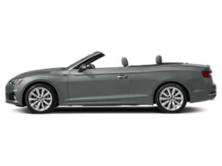 Monsoon Gray Metallic/Black Roof 2018 Audi A5 Cabriolet Pictures A5 Cabriolet 2.0 TFSI Premium Plus photos side view