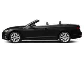 Brilliant Black/Black Roof 2018 Audi A5 Cabriolet Pictures A5 Cabriolet 2.0 TFSI Premium Plus photos side view