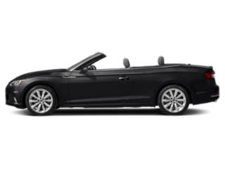 Manhattan Gray Metallic/Black Roof 2018 Audi A5 Cabriolet Pictures A5 Cabriolet 2.0 TFSI Premium Plus photos side view