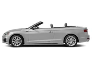 Florett Silver Metallic/Black Roof 2018 Audi A5 Cabriolet Pictures A5 Cabriolet 2.0 TFSI Premium Plus photos side view