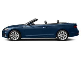 Scuba Blue Metallic/Black Roof 2018 Audi A5 Cabriolet Pictures A5 Cabriolet 2.0 TFSI Premium Plus photos side view