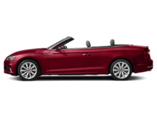 Matador Red Metallic/Black Roof 2018 Audi A5 Cabriolet Pictures A5 Cabriolet 2.0 TFSI Premium Plus photos side view