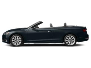 Moonlight Blue Metallic/Black Roof 2018 Audi A5 Cabriolet Pictures A5 Cabriolet 2.0 TFSI Premium Plus photos side view