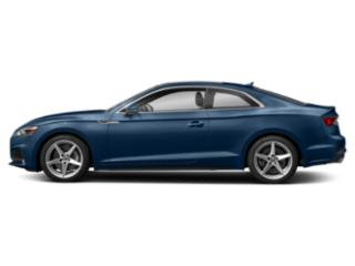 Scuba Blue Metallic 2018 Audi A5 Coupe Pictures A5 Coupe 2.0 TFSI Premium Manual photos side view
