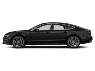 Brilliant Black 2018 Audi A7 Pictures A7 3.0 TFSI Prestige photos side view