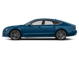 Sepang Blue Pearl Effect 2018 Audi A7 Pictures A7 3.0 TFSI Prestige photos side view