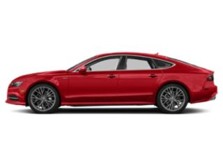 Matador Red Metallic 2018 Audi A7 Pictures A7 3.0 TFSI Prestige photos side view
