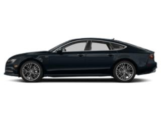 Moonlight Blue Metallic 2018 Audi A7 Pictures A7 3.0 TFSI Prestige photos side view