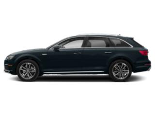 Moonlight Blue Metallic 2018 Audi A4 allroad Pictures A4 allroad 2.0 TFSI Tech Premium photos side view